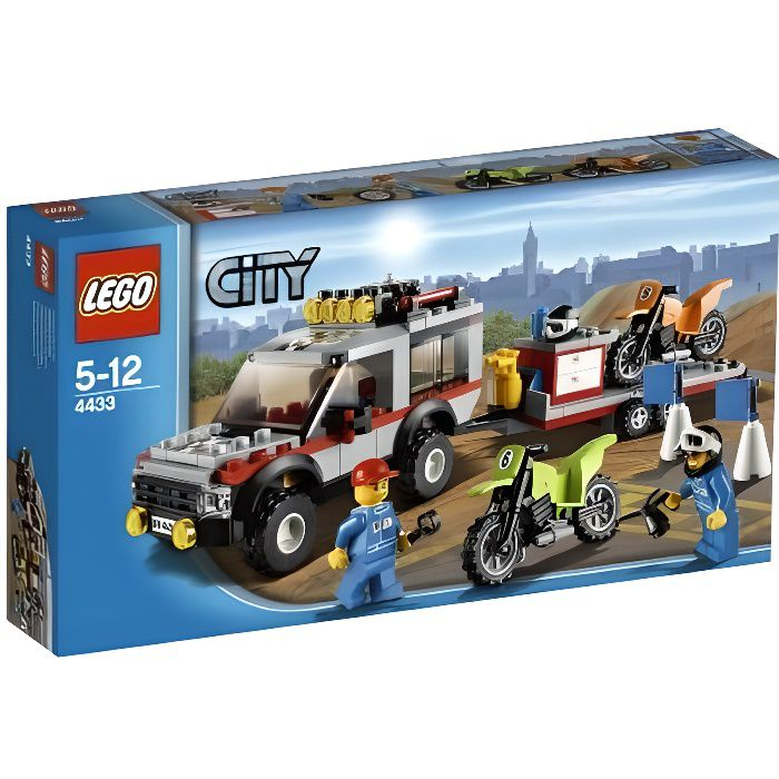 LEGO CITY - 4433 - JEU DE CONSTRUCTION - LE TRA…