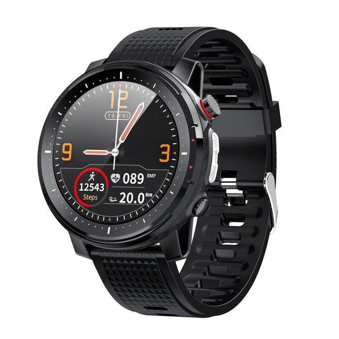 L15 montre de sport multifonctionnelle de surveillance d'ECG de fréquence cardiaque de bracelet intelligent