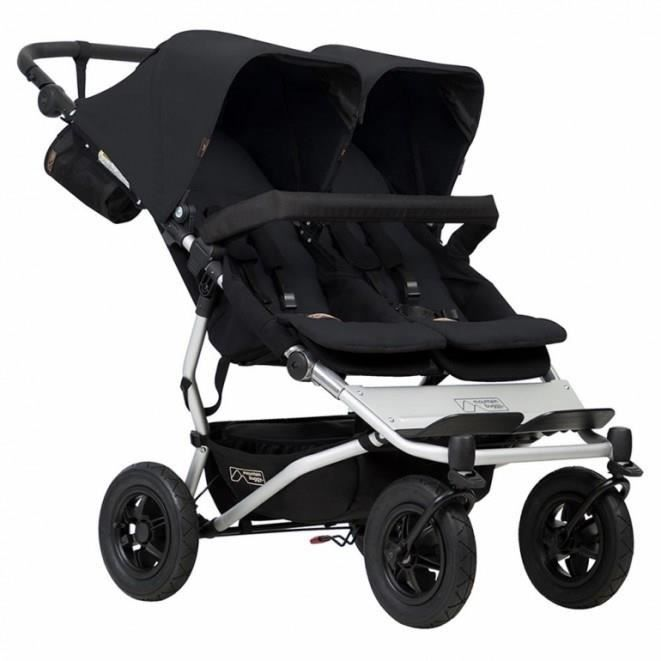 Poussette Mountain Buggy Duet V3 Black