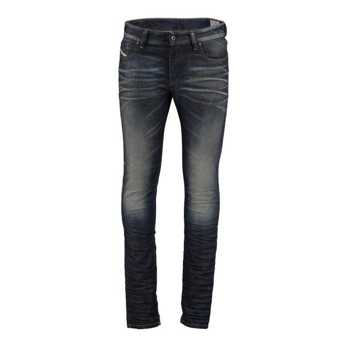 Jeans Sleenker Diesel Bleu Fonce...