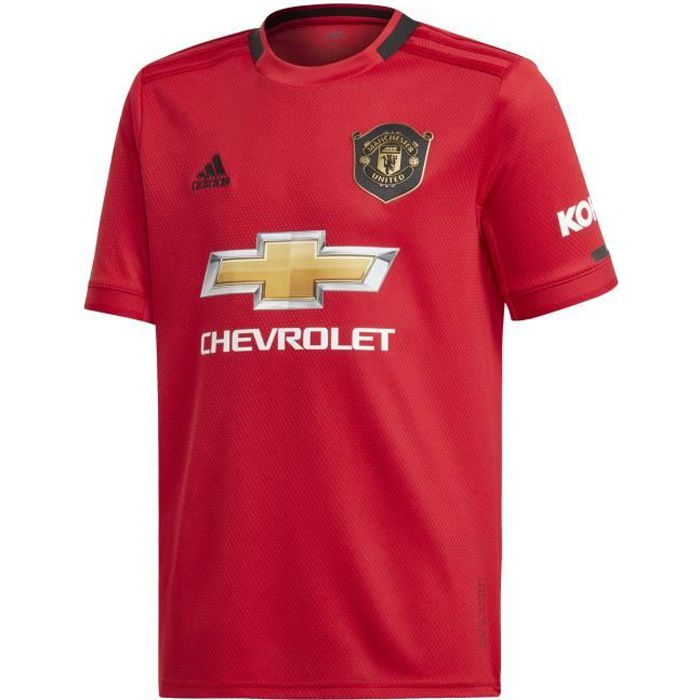 ADIDAS PERFORMANCE Maillot de Football MUFC H JSY Y Real - Enfant - Rouge