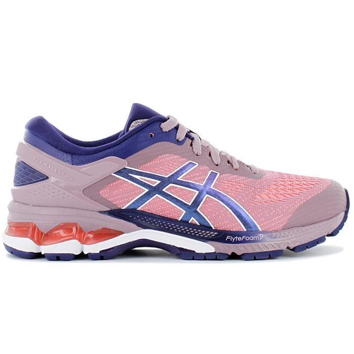 Asics Gel-Kayano 26 1012A457-500 Femme Chaussures de course running Baskets Multi