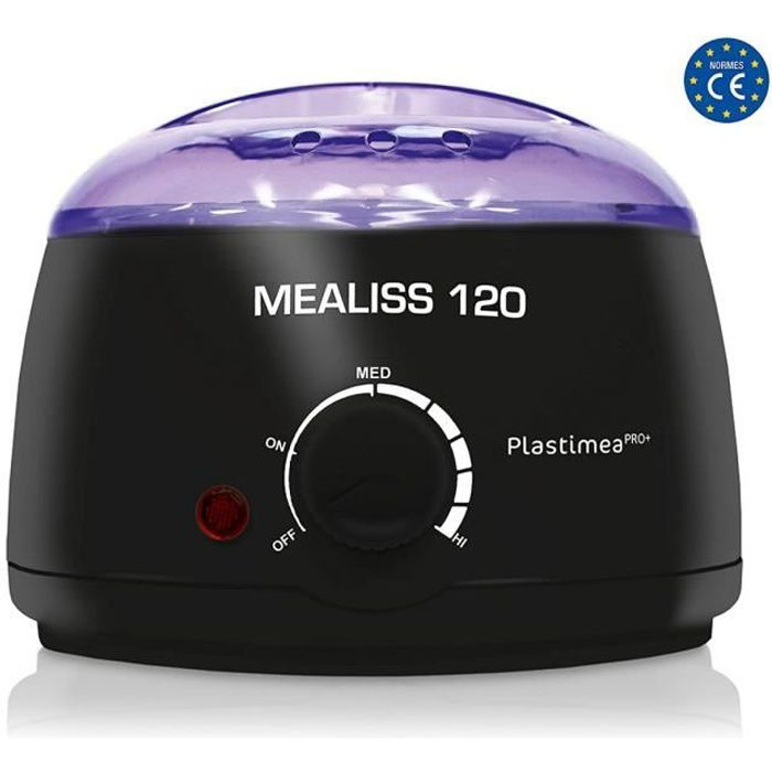 MEALISS® 120 WATT • Chauffe Cire Professionel avec CUVE 500 ml et ULTRA PUISSANT • ADAPTE A TOUTES LES CIRES