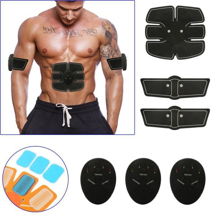 Appareil Abdominal Ceinture Abdominal développement Musculaire Bras ventre Fitness Massage Musculaire Bras Multiple Endroit Fitness