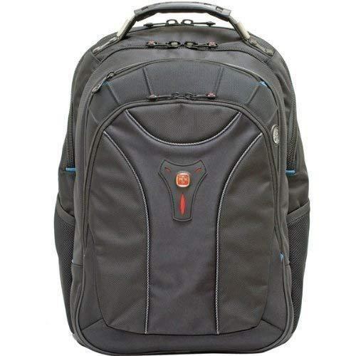 Wenger 600637 Carbon 17 -MacBook Pro sac à dos, compartiment pour ordinateur portable rembourré avec plaque-forme de stabilisation