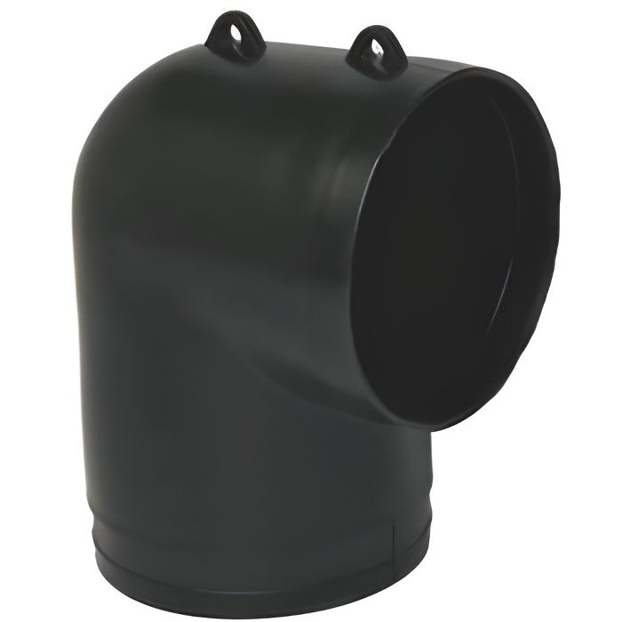 Coude /équerre Flexigaine Aldes 11127885 Diam/ètre 80mm
