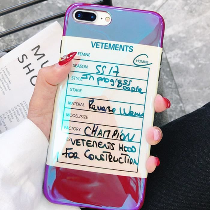 coque de protection iphone 6 6s marque luxe