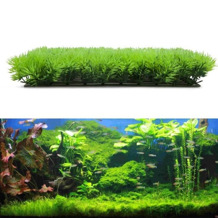 Plante Herbac E Aquatique Artificiel Aquarium Ornement