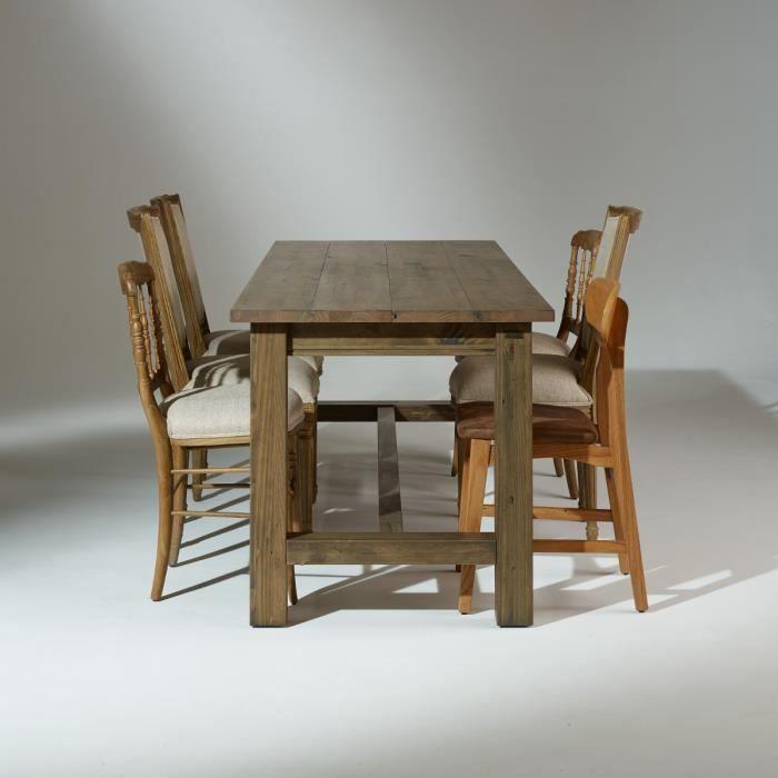 TABLE À MANGER SEULE Table de salle à manger en bois, ALBERT