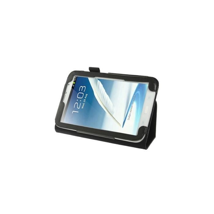 Housse support noir pour tablette samsung note 8 prix for Housse galaxy note 8