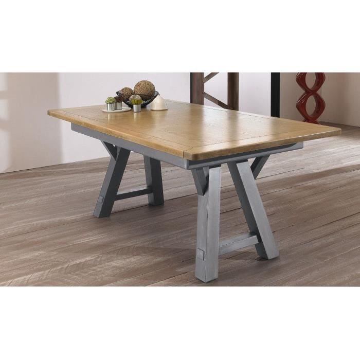 Table haute l 180 aliz multicolore achat vente table for Table haute a manger