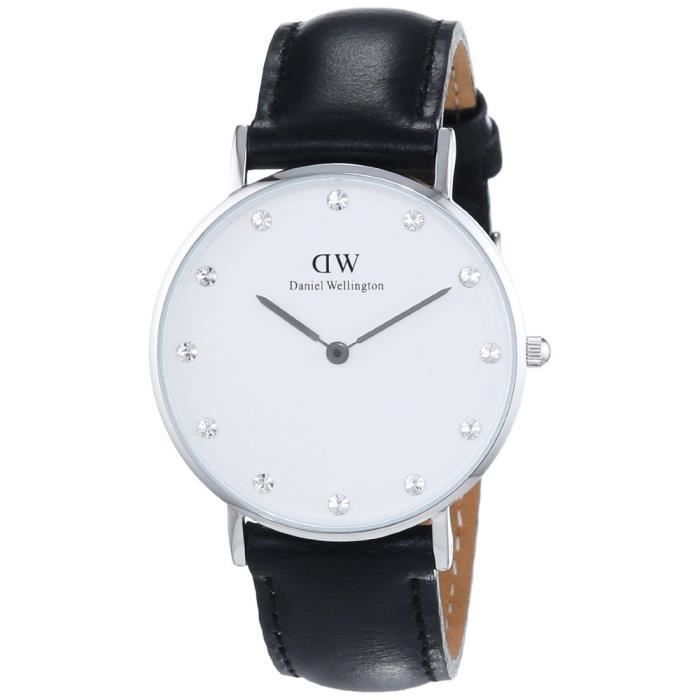 montre daniel wellington sheffield argent 0961dw ilq73v1pgn5 achat vente montre. Black Bedroom Furniture Sets. Home Design Ideas