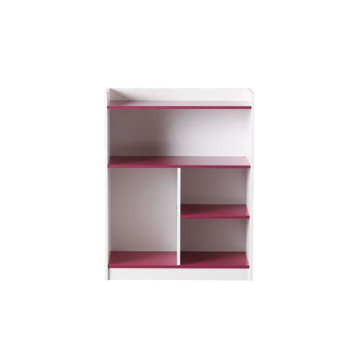 miliboo tag re blanche fushia crea achat vente. Black Bedroom Furniture Sets. Home Design Ideas