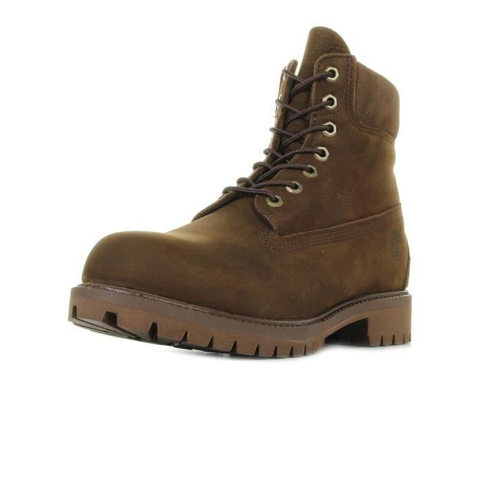 Chaussures Timberland 6IN Premium Bt Pure Dark Brown