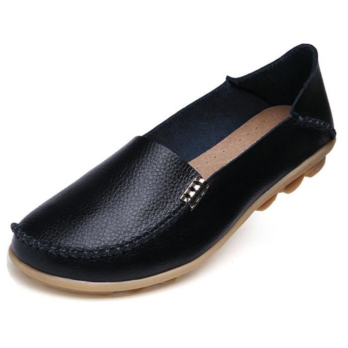 Cuir Mocassins sauvage Driving Casual Flats Us4.5-US11 TC4O7 Taille-40