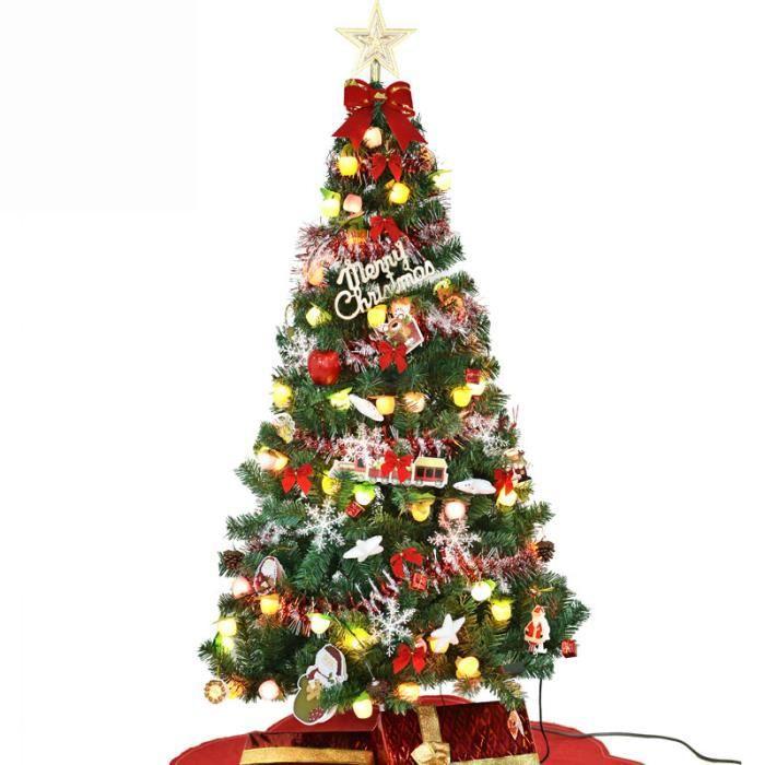 SIMPVALE Arbre sapin Noël noel artificiel 50 cm+Décorations de