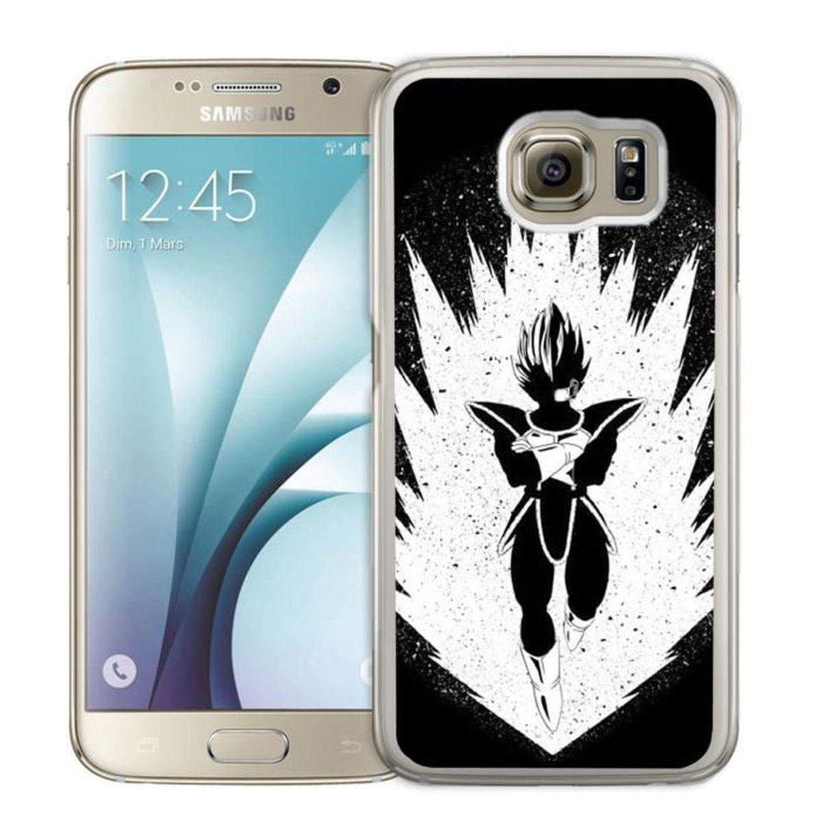 Coque Samsung Galaxy S7 Edge : Super Saiyans - Vegeta
