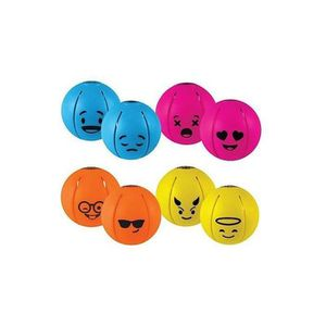 BALLE - BOULE - BALLON Goliath - Phlat Ball Mini Smiley - Ballon-Disque-D