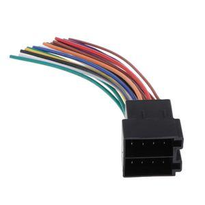 Bingfu Amplificateur amplificateur de Signal amplificateur st/ér/éo pour Voiture st/ér/éo FM AM Adaptateur Adaptateur de convertisseur de Prise DIN pour Motorola Compatible avec Autoradio St/ér/éo