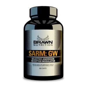 STIMULANT HORMONAUX BRAWN SARM GW 60 capsules Selective Androgen Recep