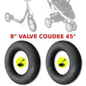 Pneu /& tube intérieur 8 1//2 x 2 Vrille 50-134 8 1//2 x2 Poussette landau poussette buggy