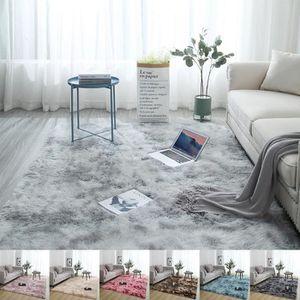 TAPIS Moderne 60*90cm doux moelleux tapis grand Shaggy z