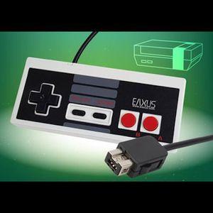 MANETTE JEUX VIDÉO Contrôleur rétro pour NES Classic Mini console de
