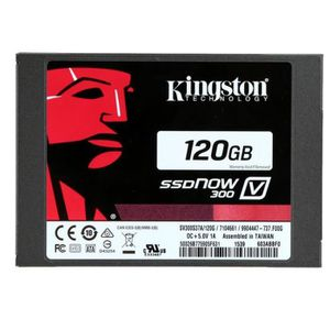 DISQUE DUR SSD D'origine Kingston SSD 2.5 Pouce 120 GB SSDNOW V30