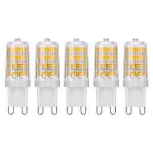 AMPOULE - LED LE Lighting EVER Ampoule LED G9, 5W Blanc Chaud 30