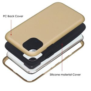COQUE - BUMPER Coque iPhone 11,D'or Ultra Slim 3 en 1 Rigide PC A