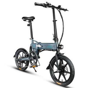VÉLO ASSISTANCE ÉLEC Vélo électrique montagne pliant 10-20 km/h 7.8Ah 2