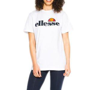 T-SHIRT T-Shirt Ellesse Albany blanc pour femmes. SGS03237