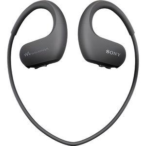 LECTEUR MP3 SONY - Walkman Sport, étanche, 4Go, Noir