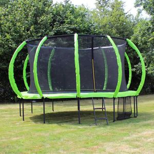 TRAMPOLINE SOULET Trampoline Courbé Ø 3.65 m avec Filet Antic
