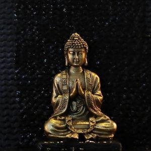 STATUE - STATUETTE ZEN'LIGHT Statuette Bouddha Or - Décoration Zen et