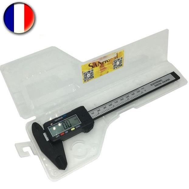 Pied A Coulisse 150 mm Digital Numérique Electronique - Ecran LCD