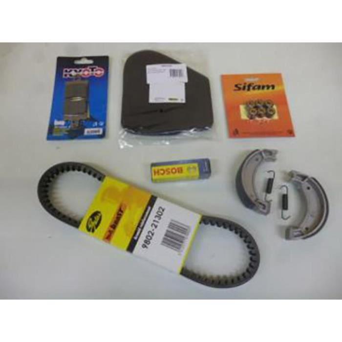 Kit révision Yamaha Neos pour 50 cc de 1997 a 2012 KITREV068 etat Kit révision comprenant : Plaquettes avant , machoires de fre…