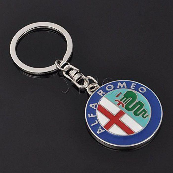 Porte-clés : logo de voiture Alfa Romeo