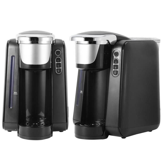 VBESTLIFE appareil de cuisine Mini machine à café à capsules portable cafetière électrique 48 oz pour une utilisation à