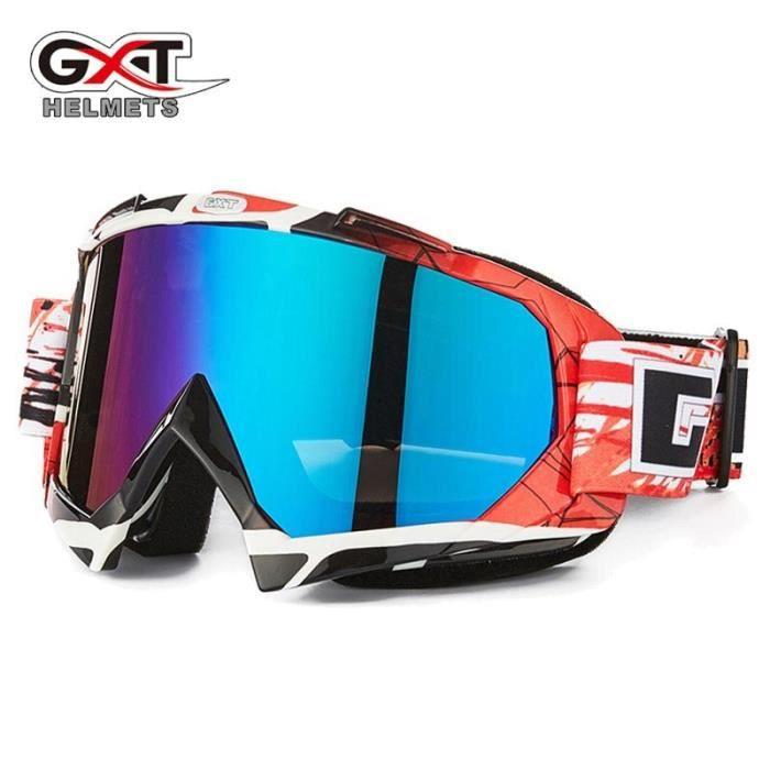 Lunettes de protection,Lunettes de Moto cross ATV vtt, vtt, pare vent, protection contre le vent, saleté, verre, casque - Type 16