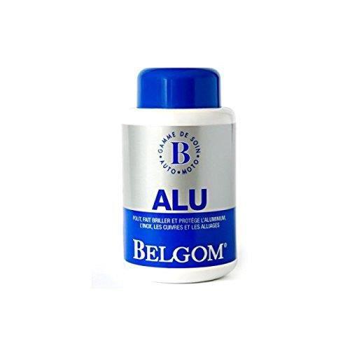 Belgom Nettoyant Alu Poli Auto Moto 250ml + Chiffon microfibre