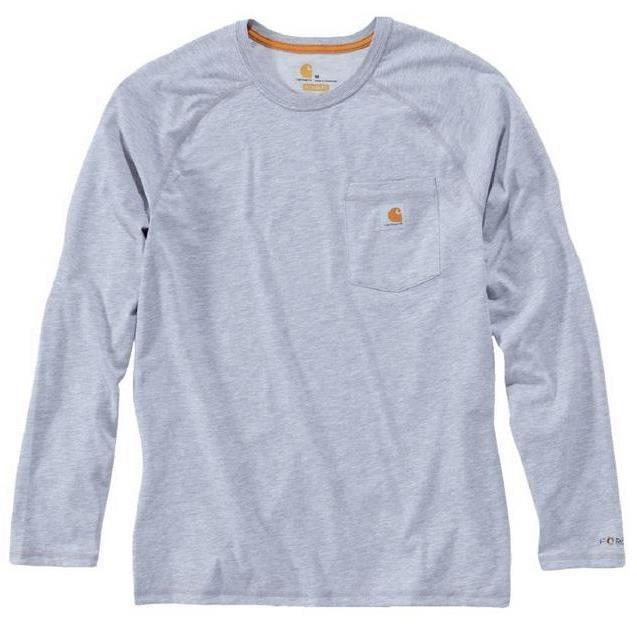 Carhartt - T-Shirt Force manches longues gris XL