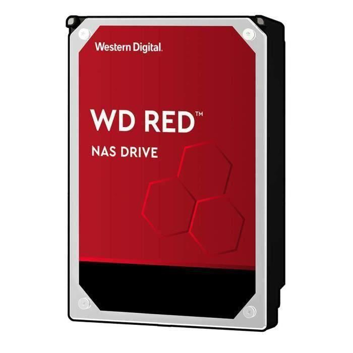 WD Red™ - Disque dur Interne NAS - 2To - 5400 tr/min - Cache 64MB - 3.5- (WD20EFAX)