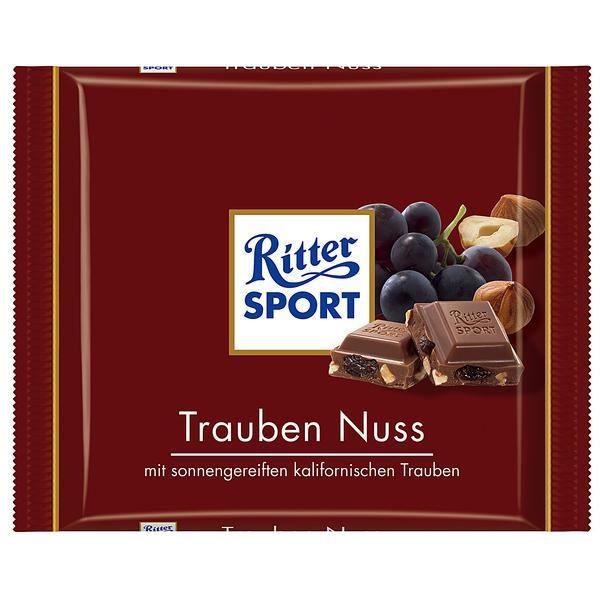 Ritter Sport Grape Nut 5 x 100g