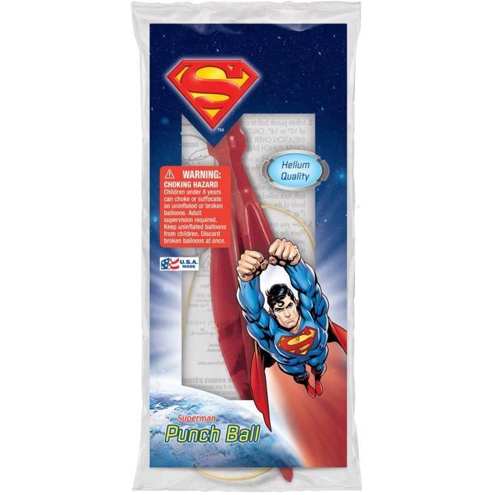 Superman couleurs assorties punch boules (jeu de 12) PQHV1   Achat