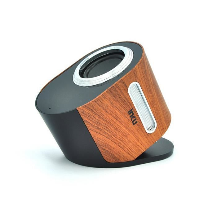 enceintes bluetooth cr ative wood design affichage tactile led speaker b0089 bois enceintes. Black Bedroom Furniture Sets. Home Design Ideas