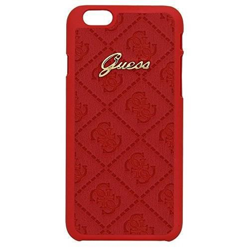 coque pour iphone 6 4 7 rouge licence guess scarlett collection achat coque bumper pas cher. Black Bedroom Furniture Sets. Home Design Ideas