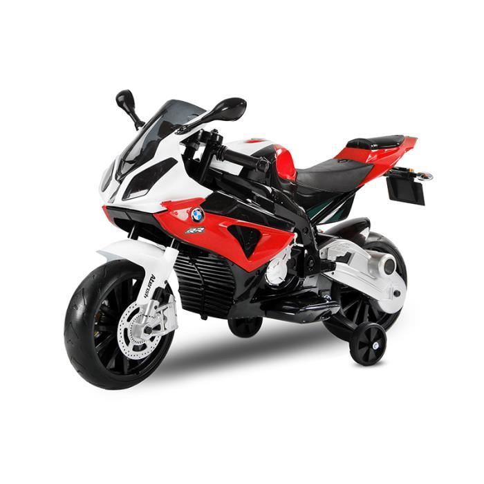moto lectrique pour enfant bmw s1000rr 2x35w rouge achat vente moto scooter cdiscount. Black Bedroom Furniture Sets. Home Design Ideas