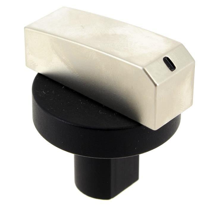 CUISINIÈRE - PIANO Bouton noir et gris 12h gaz pour Cuisiniere Prolin
