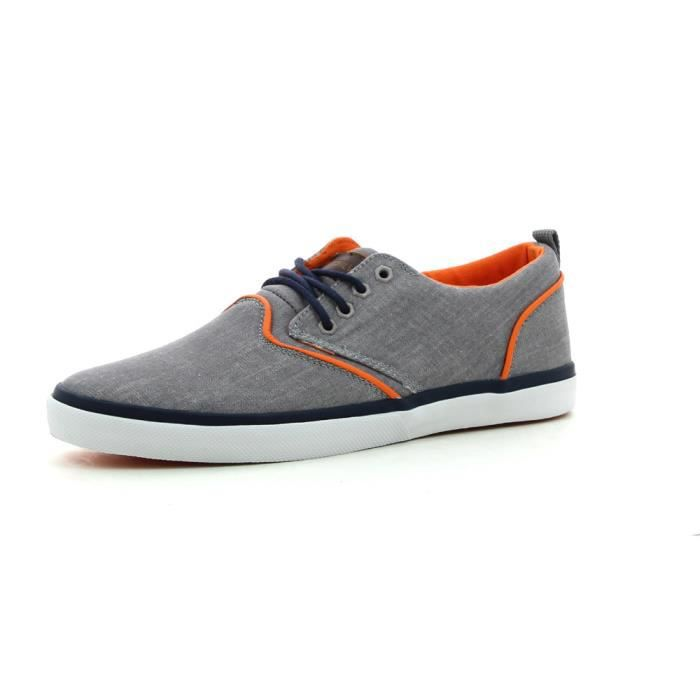 Griffin Canvas Chaussure Gris